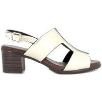 Zapatos Mujer Sandalias Pepe Parra 1288 Marfil