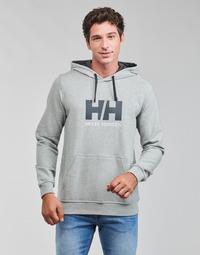 textil Hombre Sudaderas Helly Hansen HH LOGO HOODIE Gris