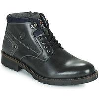 Zapatos Hombre Botas de caña baja Kaporal GAETAN Negro