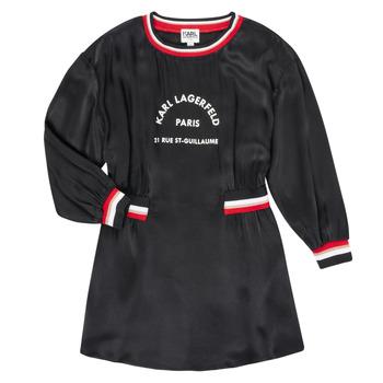 textil Niña Vestidos cortos Karl Lagerfeld RUBIS Negro