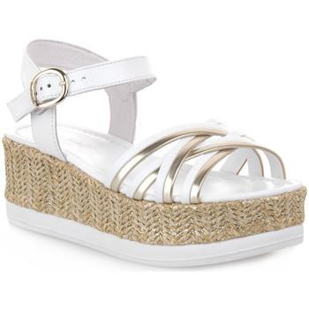 Zapatos Mujer Sandalias NeroGiardini NERO GIARDINI  707 LOIRA BIANCO Bianco