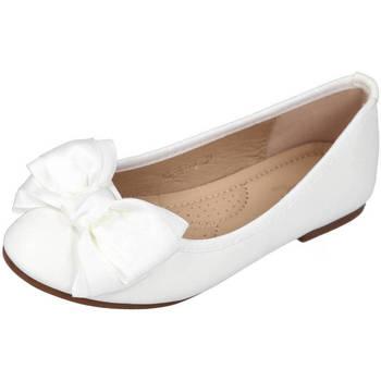Zapatos Niña Bailarinas-manoletinas Bubble Bobble A2481-L BLANCO