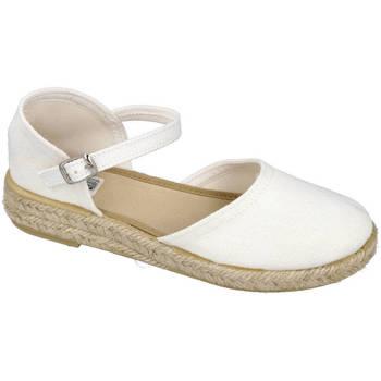 Zapatos Niña Alpargatas Andrea Ruiz 262 BLANCO