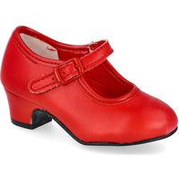 Zapatos Niña Bailarinas-manoletinas L&R Shoes 80 ROJO