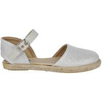 Zapatos Niña Alpargatas Andrea Ruiz 263/L PLATA