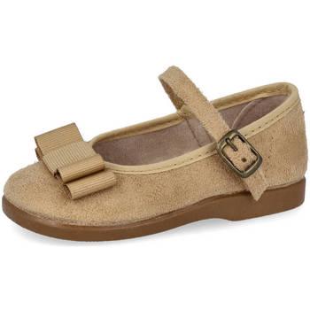 Zapatos Niña Bailarinas-manoletinas Andrea Ruiz 178 BEIG