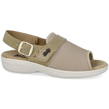 Zapatos Mujer Sandalias L&R Shoes 1416/S BEIG