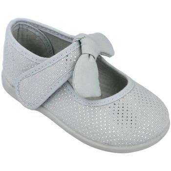 Zapatos Niña Bailarinas-manoletinas Andrea Ruiz 955/P GRIS