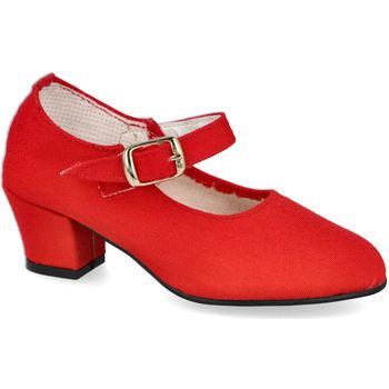 Zapatos Niña Bailarinas-manoletinas L&R Shoes 1062 ROJO