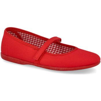 Zapatos Niña Bailarinas-manoletinas Andrea Ruiz 750 ROJO