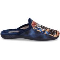 Zapatos Hombre Pantuflas Andrea Ruiz 60/10 AZUL