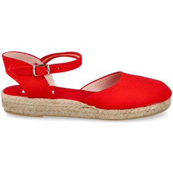 Zapatos Mujer Alpargatas Andrea Ruiz 972 ROJO