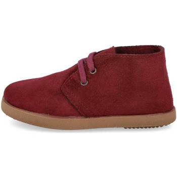 Zapatos Niño Botas de caña baja Andrea Ruiz 1100 BURDEOS