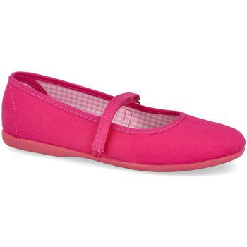 Zapatos Niña Bailarinas-manoletinas Andrea Ruiz 750 FUXIA
