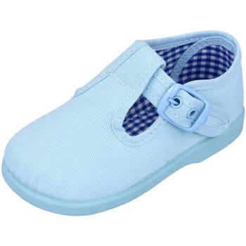 Zapatos Niño Pantuflas Andrea Ruiz 952 CELESTE