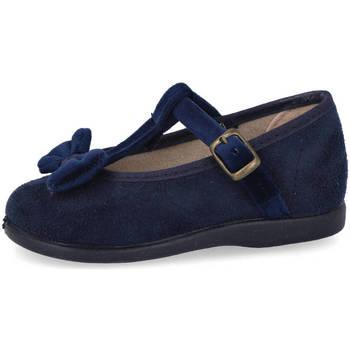 Zapatos Niña Bailarinas-manoletinas Andrea Ruiz 174 AZUL