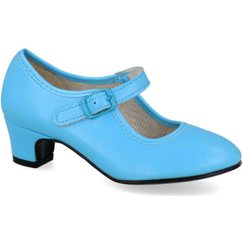 Zapatos Mujer Bailarinas-manoletinas L&R Shoes 80 CELESTE
