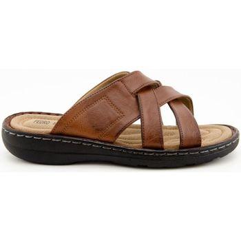 Zapatos Hombre Zuecos (Mules) L&R Shoes A297 MARRON