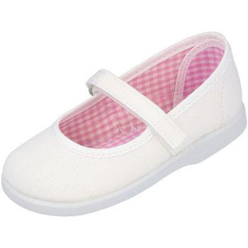 Zapatos Niña Bailarinas-manoletinas Andrea Ruiz 950 BLANCO