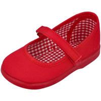 Zapatos Niña Bailarinas-manoletinas Andrea Ruiz 950 ROJO