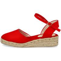 Zapatos Mujer Alpargatas L&R Shoes 010 ROJO
