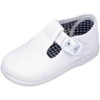 Zapatos Niño Alpargatas Andrea Ruiz 952 BLANCO