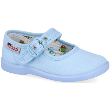 Zapatos Niña Bailarinas-manoletinas Vulladi 1210-051 CELESTE