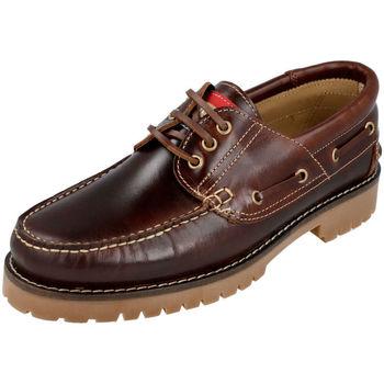 Zapatos Hombre Zapatos náuticos Edward's 1400 MARRON