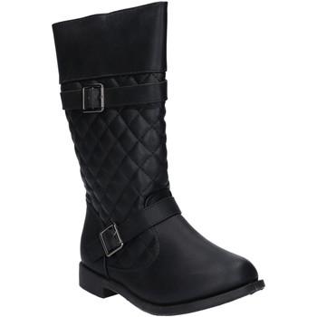 Zapatos Niña Botas urbanas Urban B089540-B4600 Negro