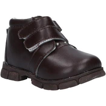 Zapatos Niño Botas de caña baja Happy Bee B155890-B1153 Marr?n