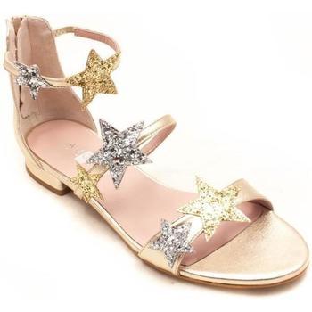 Zapatos Mujer Sandalias Angari 36932 Oro
