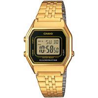Relojes & Joyas Hombre Relojes digitales Casio LA680WEGA-1ER, Quartz, 28mm, 3ATM Oro