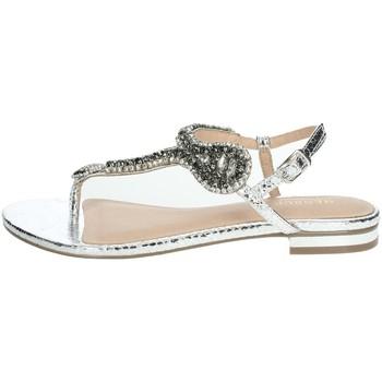 Zapatos Mujer Sandalias Menbur 22345 Plata
