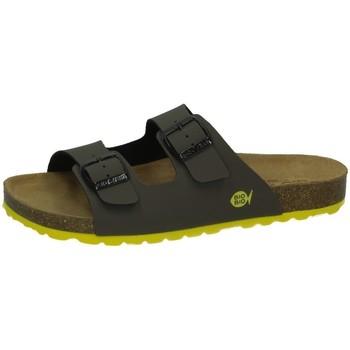 Zapatos Hombre Zuecos (Mules) Biobio Sandalias de piel KAKI