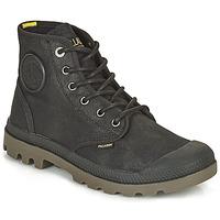 Zapatos Botas de caña baja Palladium PAMPA CANVAS Negro