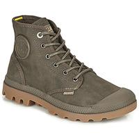 Zapatos Botas de caña baja Palladium PAMPA CANVAS Marrón