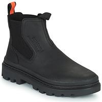 Zapatos Botas de caña baja Palladium PALLATROOPER WATERPROOF Negro