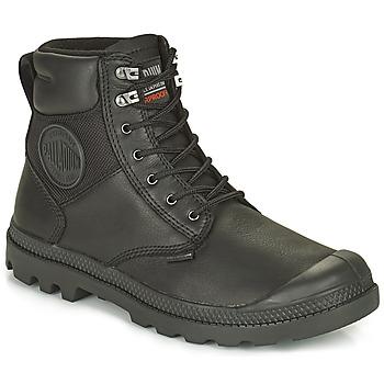 Zapatos Botas de caña baja Palladium SPORTCUFF ESSENTIAL WATERPROOF Negro