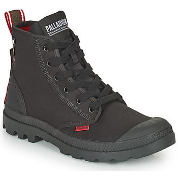 Zapatos Botas de caña baja Palladium PAMPA METRO Negro