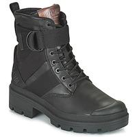 Zapatos Mujer Botas de caña baja Palladium PALLABASE TACT STR L Negro