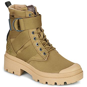 Zapatos Mujer Botas de caña baja Palladium PALLABASE TACT S TX Verde