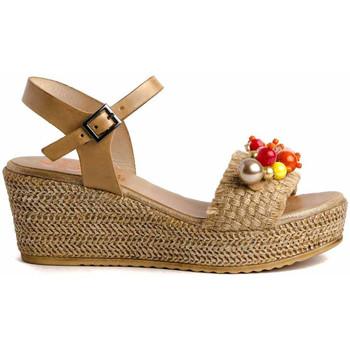 Zapatos Mujer Sandalias Porronet 2740 Beige