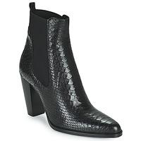 Zapatos Mujer Botas de caña baja San Marina ALENA Negro