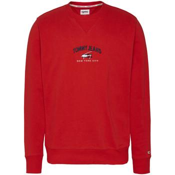 textil Hombre Sudaderas Tommy Hilfiger Timeless Tommy Crew Rojo