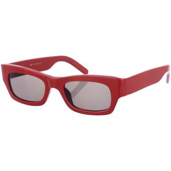 Relojes & Joyas Mujer Gafas de sol Marni Gafas de Sol Rojo