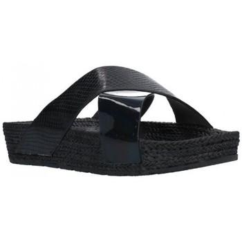 Zapatos Mujer Chanclas Kelara K12033 Mujer Negro noir