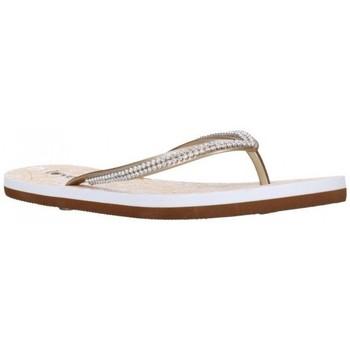 Zapatos Mujer Chanclas Kelara K12009 Mujer Dorado Doré