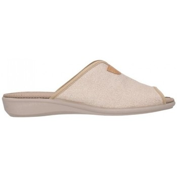 Zapatos Mujer Pantuflas Calzamur 51119000 Mabel A48 Mujer Beige beige