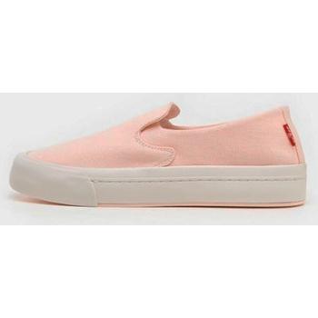 Zapatos Mujer Alpargatas Levi's Strauss ZAPATILLA LEVIS SUMMIT SLIP ON S Rosa