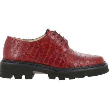Zapatos Mujer Derbie Neosens  Rojo